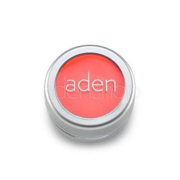 Aden тени для век , порошок/пигмент порошок 36 Neon Salmon 3гр
