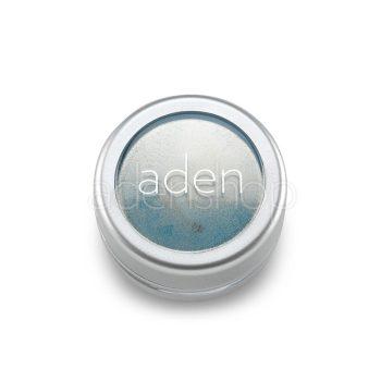 Aden тени для век , порошок/пигмент порошок 17 Azure 3гр