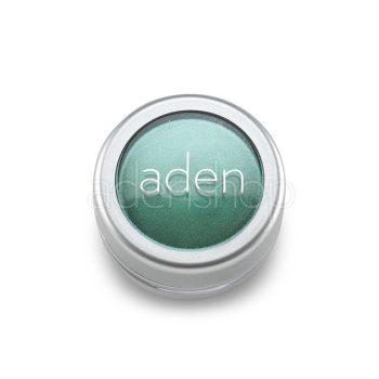 Aden тени для век , порошок/пигмент порошок 20 Amazon Green 3гр