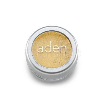 Aden тени для век , порошок/пигмент порошок 24 Metal Gold 3гр