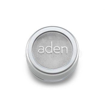 Aden тени для век , порошок/пигмент порошок 25 Metal Silver 3гр